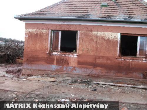 A vörösiszap súlytotta Kolontáron is segített a MÁTRIX Alapítvány
