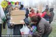 Ajándékosztás rászorulók számára