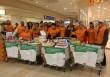 Önkéntes segítő csapatunk is segített élelmet gyűjteni