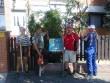 Önkéntesek dolgoztak a Mátrix Sterilház kertjének szépítésén