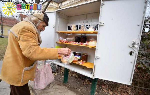 Étel adomány: rászorulók támogatása, szeretetláda, étel adomány