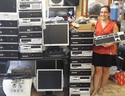 Számítógép adomány a Dán Nagykövetségtől